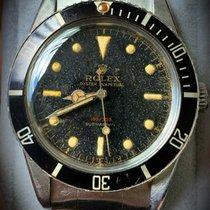 Rolex Submariner (No Date) Stahl Schwarz Keine Ziffern