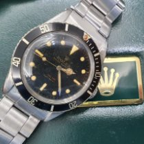 Rolex Submariner (No Date) Steel Black No numerals