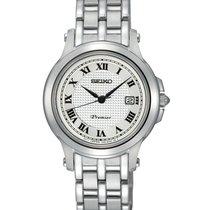 Seiko Premier Automatic Steel 27mm Silver Roman numerals United States of America, New York, Bellmore