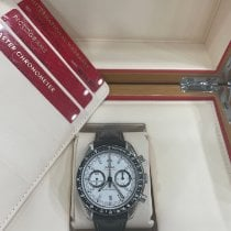 Omega Speedmaster Racing new 2021 Automatic Chronograph Watch with original box and original papers 329.33.44.51.04.001
