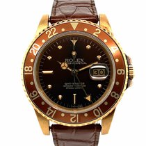 Rolex GMT-Master Yellow gold 40mm Brown No numerals United States of America, New York, New York