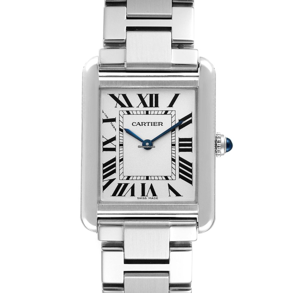 Cartier Tank Solo W5200013 pre-owned
