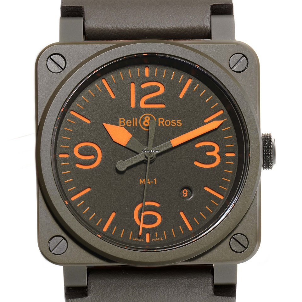Bell & Ross BR 03-92 Ceramic BR0392-KAO-CE/SCA MA-1 2020 new