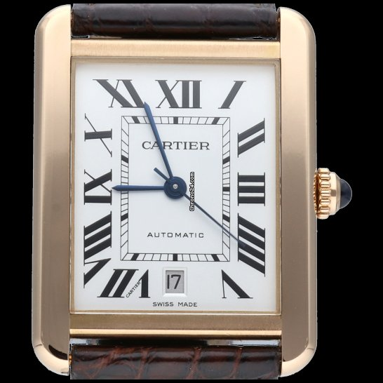 Cartier Tank Solo W5200026 2018 pre-owned