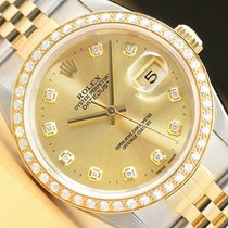Rolex Datejust pre-owned 36mm Date Gold/Steel
