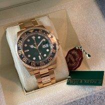Rolex GMT-Master II 116718LN Ungetragen Gelbgold 40mm Automatik Schweiz