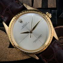 Rolex Oyster Perpetual usados 34mm Oro Piel