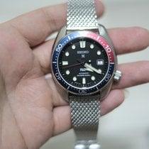 Seiko Prospex Steel 44mm Black No numerals Malaysia, Kuching