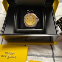 Breitling Avenger II Seawolf Steel 45mm Yellow Arabic numerals United States of America, New York, Port Washington