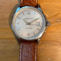 Hamilton Jazzmaster Viewmatic Steel 40mm Silver Arabic numerals United States of America, Pennsylvania, Norristown