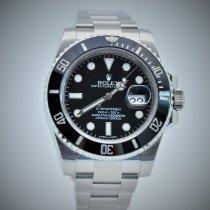 Rolex Submariner Date Steel 40mm Black No numerals Malaysia