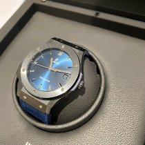 Hublot Classic Fusion Blue 511.CM.7170.LR Meget god Keramik 45mm Automatisk Danmark, Hvidovre