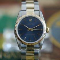 Rolex Oyster Perpetual 31 Золото/Cталь 31mm Синий Без цифр