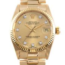 Rolex Lady-Datejust Желтое золото 31mm Золотой