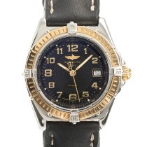 Breitling Wings Lady Acero y oro 31mm Negro