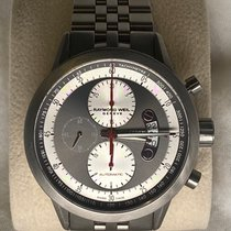 Raymond Weil pre-owned Automatic 45mm Grey Sapphire crystal 10 ATM
