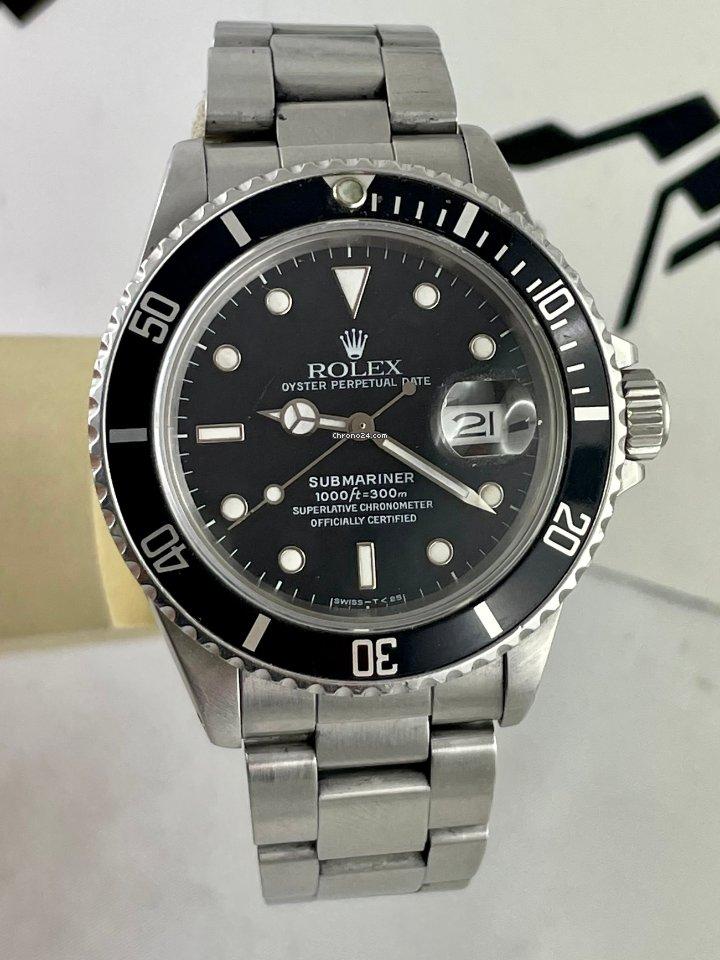 Rolex Submariner Date 168000 1987 gebraucht