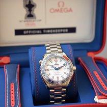 Omega Seamaster Planet Ocean neu 2021 Automatik Uhr mit Original-Box und Original-Papieren 215.32.43.21.04.001