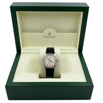 Rolex Steel Automatic 34mm pre-owned Bubble Back
