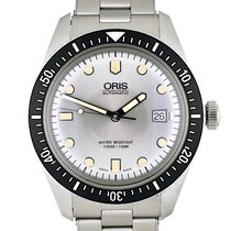 Oris Divers Sixty Five Steel 42mm Silver No numerals United States of America, Georgia, Atlanta