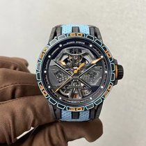 Roger Dubuis Excalibur RDDBEX0828 New Carbon 45mm Automatic
