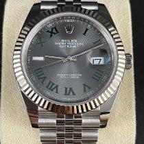 Rolex Datejust 126334 Неношеные Сталь 41mm Автоподзавод