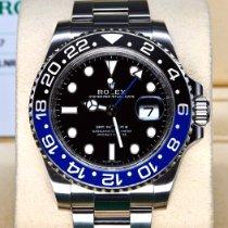 勞力士 GMT-Master II 鋼 40mm 黑色 無數字