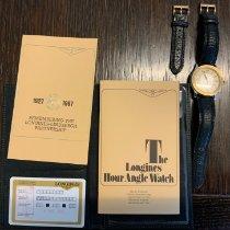 Longines Lindbergh Hour Angle Gold/Stahl 38mm Braun Römisch Deutschland, Bobingen