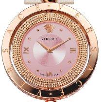 Versace Новые Сталь 33.6mm Кварцевые