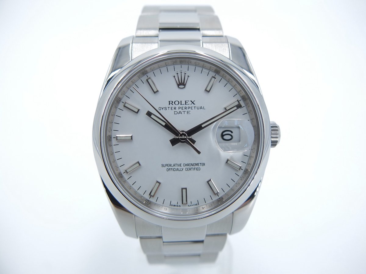 Rolex Oyster Perpetual Date 115200 2011 pre-owned