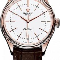Rolex Cellini Time 50505 Nagyon jó Rózsaarany 39mm Automata