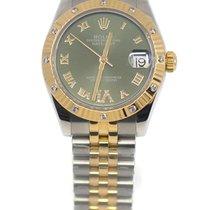 Rolex Lady-Datejust 178313 Nagyon jó Arany/Acél 31mm Automata