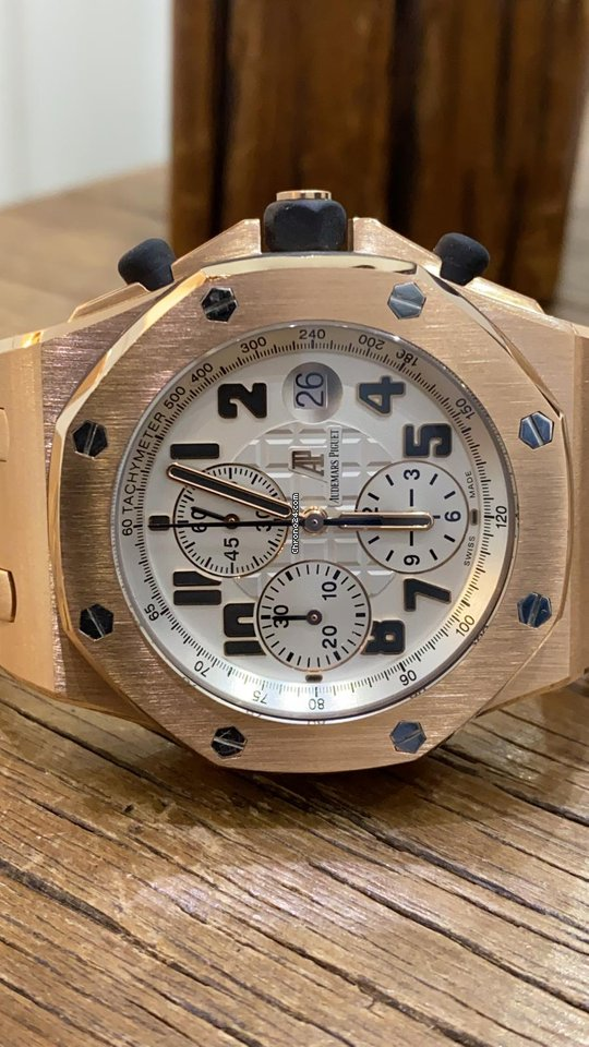 Audemars Piguet Royal Oak Offshore Chronograph 26170OR.OO.1000OR.01 2014 pre-owned