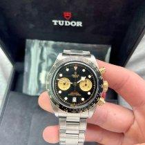 Tudor Black Bay Chrono pre-owned 41mm Black Chronograph Date Tachymeter Steel