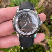 Cartier Ronde Croisière de Cartier pre-owned 42mm Grey Date Leather