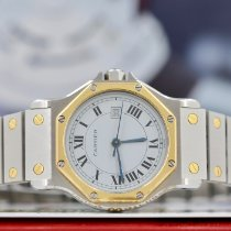 Cartier Santos (submodel) 2966 Very good Steel 30mm Automatic