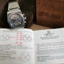 Zenith El Primero Espada Stål 38mm Sølv Ingen tall