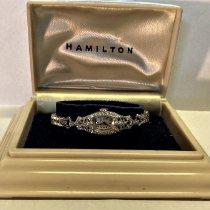 Hamilton Platinum Manual winding White Arabic numerals 14mm pre-owned