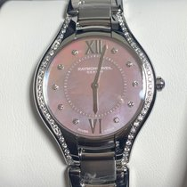 Raymond Weil pre-owned Quartz 32mm Pink Sapphire crystal 5 ATM
