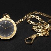 Bulgari Часы подержанные Желтое золото 39mm Aрабские Кварцевые Только часы