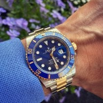 Rolex new Automatic 41mm Gold/Steel Sapphire crystal