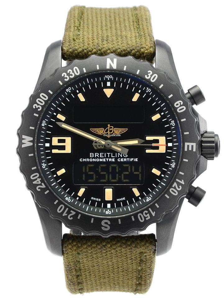 Breitling Chronospace Military M7836622/BD39 2019 pre-owned