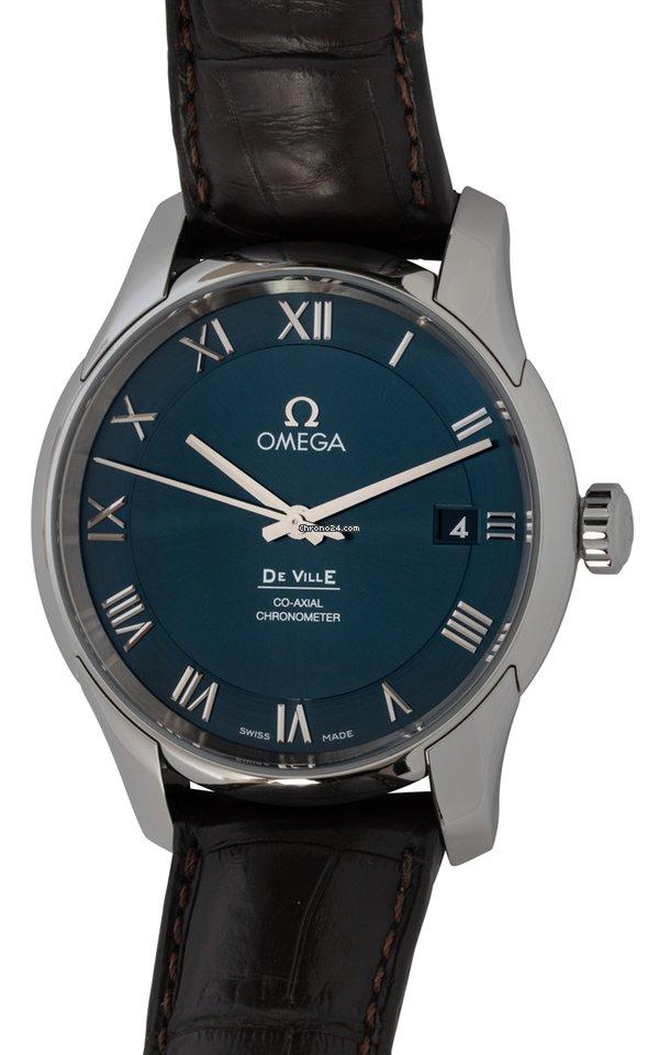 Omega De Ville Co-Axial 431.13.41.21.03.001 pre-owned