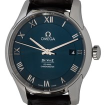 Omega De Ville Co-Axial Steel 41mm Blue Roman numerals United States of America, Texas, Austin