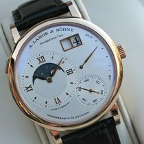 A. Lange & Söhne Grand Lange 1 Rose gold 41mm Silver Roman numerals