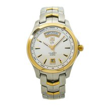 TAG Heuer Link Calibre 5 Steel 41mm White United States of America, New York, New York