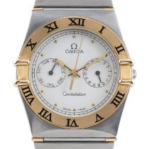 Omega Constellation Day-Date Gold/Steel 32mm White
