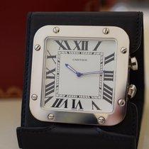 Cartier Santos (submodel) Stahl 54mm Weiß Schweiz, Geneva