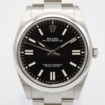 Rolex Oyster Perpetual Stahl 41mm Schwarz Keine Ziffern Deutschland, Hamburg