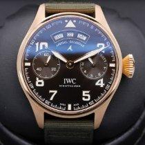 IWC Pозовое золото Коричневый 46mm подержанные Big Pilot